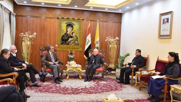 ساكو يؤكّد على أهمّيّة العيش المشترك والتّعدّديّة في العراق