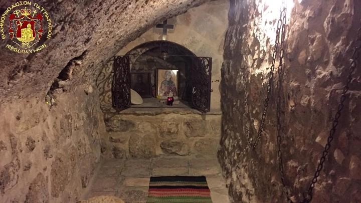 بطريركيّة الرّوم الأرثوذكسيّة في المدينة المقدّسة أورشليم أحيت عيد القدّيسة ميلاني