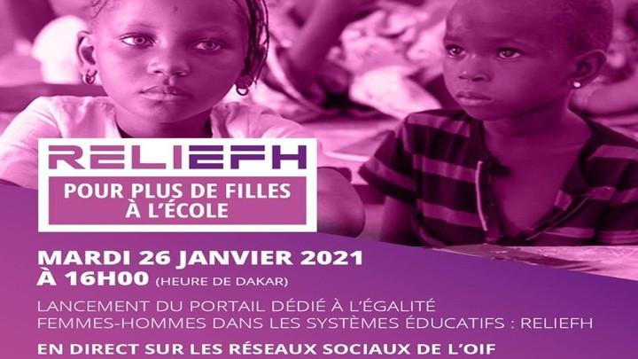 المنظومة الفرنكوفونيّة في اليوم الدولي للتعليم: تزوّدنا بوابة مخصّصة للمساواة بين المرأة والرجل (RELIEFH) في النظم التّعليميّة