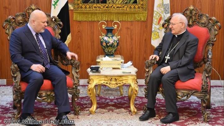 البطريرك ساكو يشكل المستشار الخاصّ في الأمم المتّحدة على دعم العراق