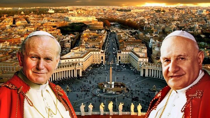 """في ذكرى تقديس البابوين """"اليوحنّايين""""..."""