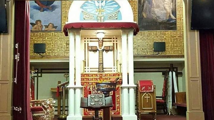 هكذا يحيي السّريان الأرثوذكس في مار أفرام بربانك- كاليفورنيا الآلام والقيامة!
