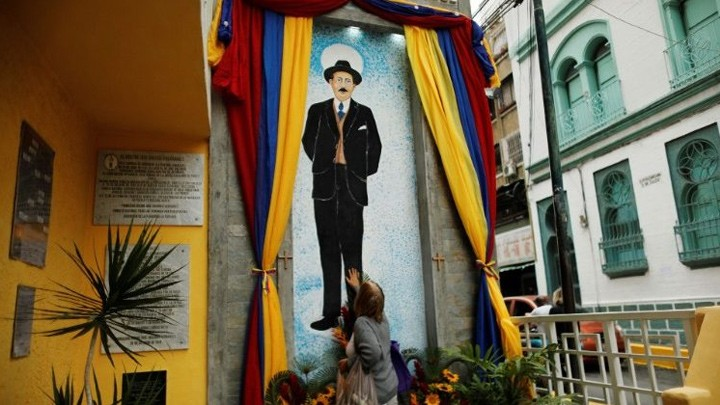 رسالة من البابا فرنسيس إلى الشّعب الفنزويلّي في يوم تطويب خوسيه هيرنانديز!