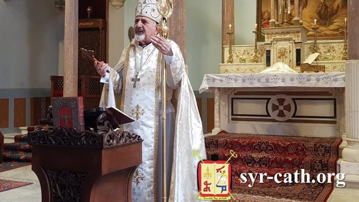 يونان معايدًا الكنائس الشّقيقة بالفصح: ليزل الله المحن في لبنان وبلاد الشّرق