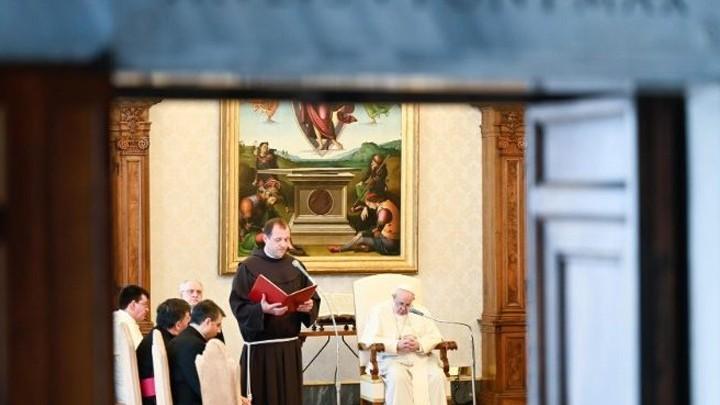 البابا فرنسيس: التّأمّل لا يعتمد على العيون وإنّما على قلب يشعر بالحبّ
