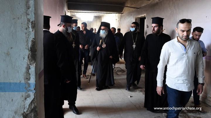 يوحنّا العاشر أنهى زيارته إلى حلب، وهذه أبرز محطّاتها!