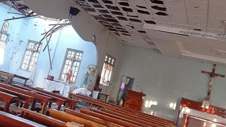 هجوم على كنيسة سلطانة السّلام في ميانمار