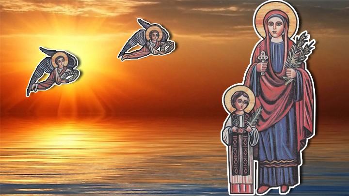 """كيرياكوس ويوليطا أمّه... """"نحن مسيحيّان!"""" فاستشهدا"""