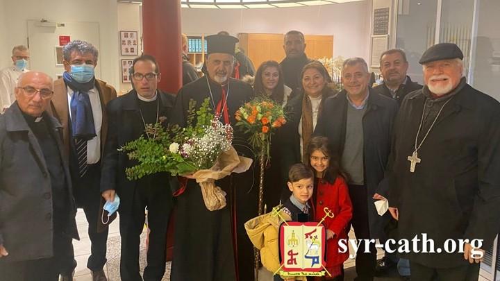البطريرك يونان في هامبورغ- ألمانيا في زيارة راعويّة