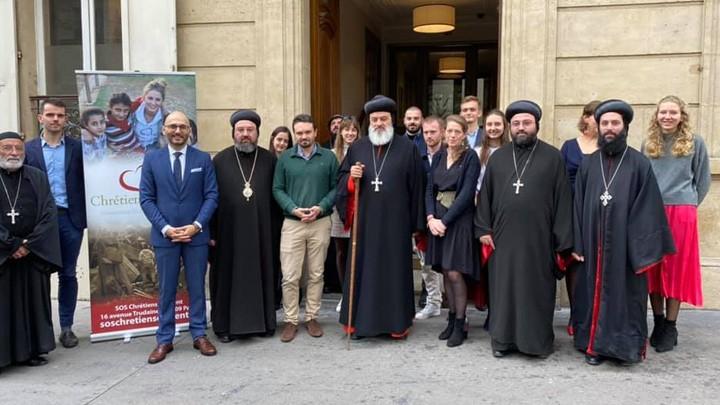 أفرام الثّاني للمرّة الأولى في زيارة رسوليّة إلى باريس