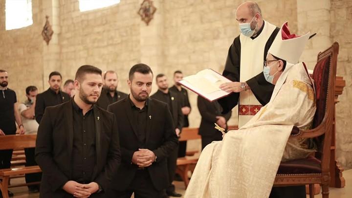 سيامة 16 مرتّلاً جديدًا على مذابح الأبرشيّات المارونيّة في لبنان