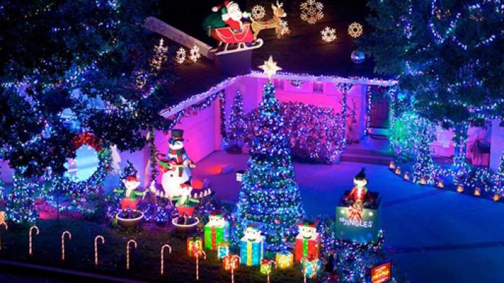 فرح وزينة عيد الميلاد...